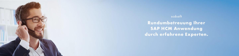 Rundumbetreuung Ihrer SAP HCM Anwendung durch erfahrene Experten.