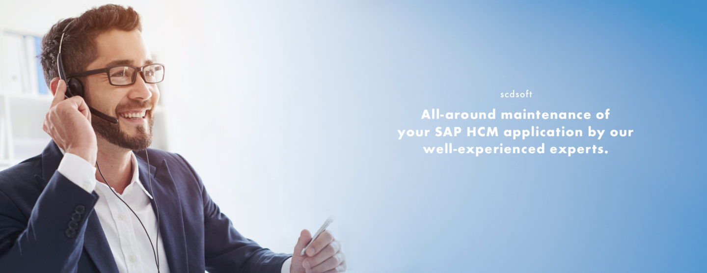 Our employees consult you about SAP HCM