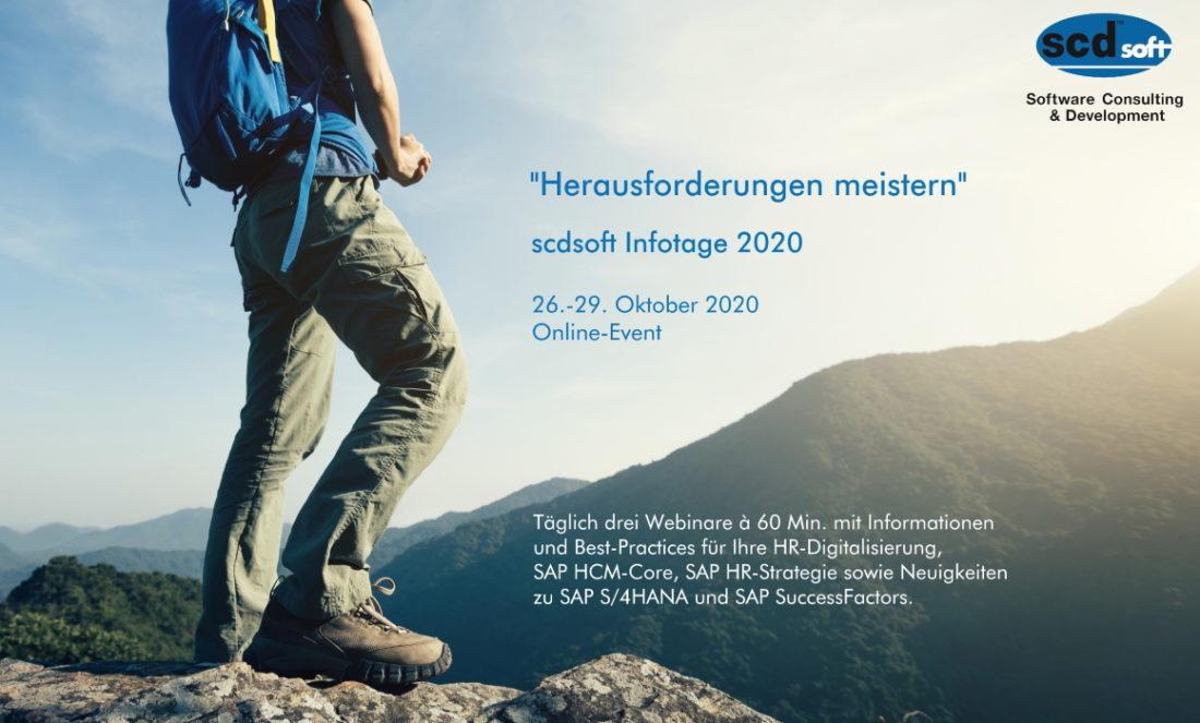 Anmeldung scdsoft Infotage 2020